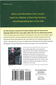Picture of Leonard Lee Rue III's Deer Hunting Tips & Techniques