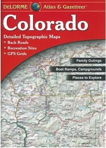 Themapstore delorme colorado state atlas gazetteer for Colorado fishing atlas
