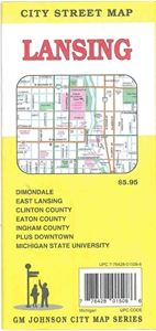 Picture of Lansing, Michigan City Street Map