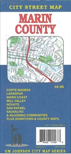 Picture of Marin County California City Street Map