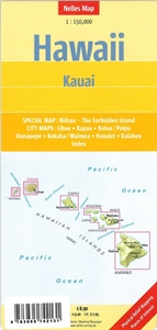 Picture of Nelles Map Hawaii - Kauai