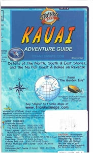 Picture of Franko Maps Kauai Adventure Guide