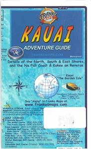 Picture of Franko Maps Kauai Adventure Guide
