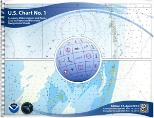Picture of U.S. Chart No. 1 - Symbols, Abbreviations and Terms
