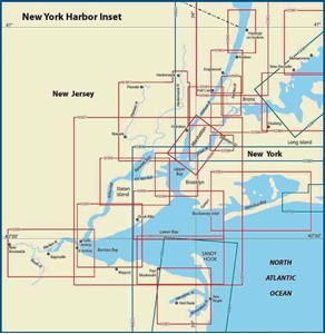 Picture of Click Here For an Easy To Read New York Harbor Nautical Chart Index