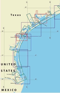 Picture of Click Here For an Easy To Read Corpus Christi, TX To Brownsville, TX Nautical Chart Index