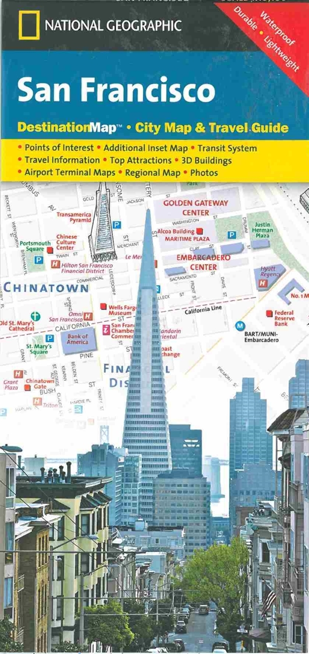 Themapstore san francisco destination map city map for Travel guide san francisco