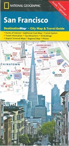 Picture of San Francisco Destination Map City Map & Travel Guide