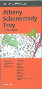 Picture of Albany, Schenectady, Troy, NY street map