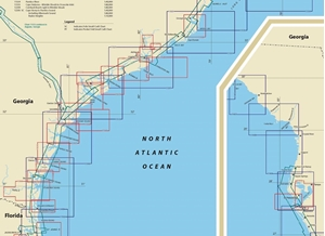 Picture of Click Here For an Easy To Read Jacksonville, FL To Georgetown, SC Nautical Chart Index