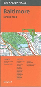 Picture of Baltimore, MD street map
