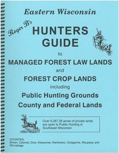 Picture of Roger B's Eastern Wisconsin Hunters Guide 2016 Edition