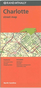 Picture of Charlotte, NC street map