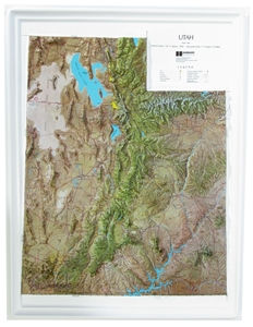 Picture of Utah Raised Relief Map