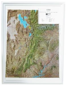 Picture of Utah Raised Relief Map