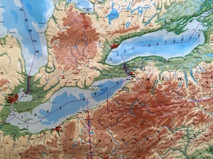 Picture of Great Lakes Raised Relief Map