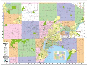Picture of Appleton & Fox Cities Wall Map