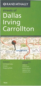 Picture of Dallas, Irving, Carrollton,  TX Street Map