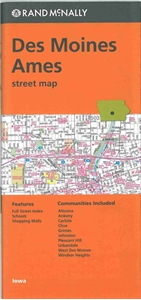 Picture of Des Moines, Ames, IA street map