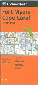 Picture of Fort Myers, Cape Coral, FL street map