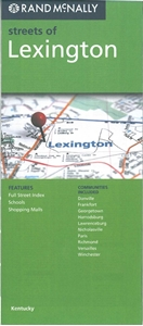 Picture of Lexington, KY street map