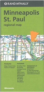 Picture of Minneapolis, St Paul Regional Map