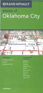 Picture of Oklahoma City, Oklahoma street map