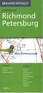 Picture of Richmond, Petersburg, VA street map