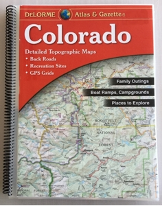 Laminated Colorado Atlas & Gazetter