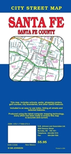 Picture of Santa Fe, Santa Fe County Street Map