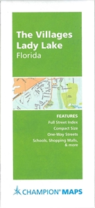 Villages, Lady Lake, FL Street Map