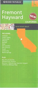 Picture of Fremont, Hayward, California Local Street Detail Map