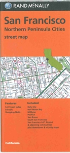 Picture of San Francisco, Northern Peninsula Cities California street map