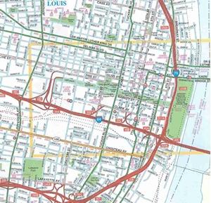 TheMapStore St Louis Missouri Street Map - St louis missouri map