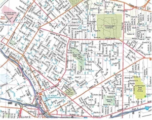 Themapstore syracuse ny street map for Mercedes benz of syracuse fayetteville ny