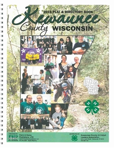 Picture of Kewaunee County Wisconsin Plat Book 2015