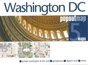 Picture of Washington DC Popout Map