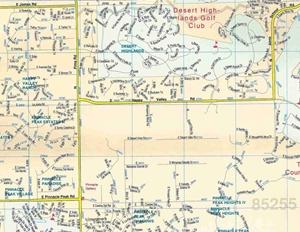 TheMapStore | Scottsdale, AZ Street Map