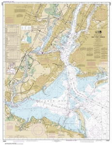 Picture of 12327 - New York Harbor Nautical Chart
