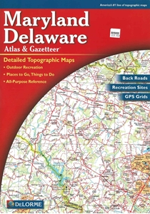 Picture of Maryland and Delaware Atlas & Gazetteer (Paperback)