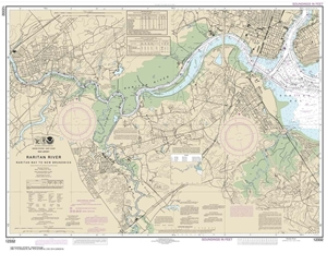 Picture of 12332 - Raritan River - Raritan Bay To New Brunswick Nautical Chart