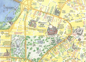 Picture of MapEasy's Guidemap to Boston