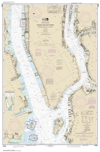 Picture of 12335 - Hudson and East Rivers - Governors Island To 67th Street Nautical Chart