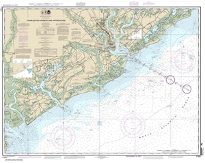 Picture of 11521 - Charleston Harbor And Approaches Nautical Chart
