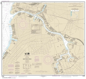 Picture of 12338 - East River - Newtown Creek Nautical Chart