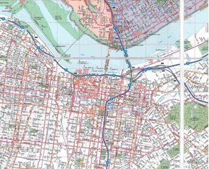 Picture of Louisville Folded EasyFinder Map