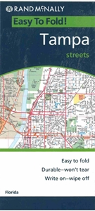 Picture of Tampa Folded EasyFinder Map