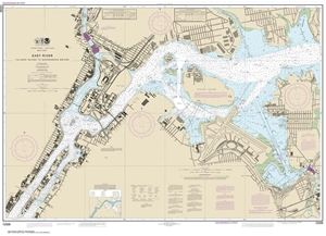 Picture of 12339 - East River - Tallman Island To Queensboro Bridge Nautical Chart