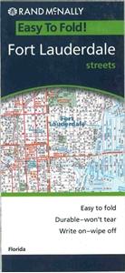 Picture of Fort Lauderdale Folded EasyFinder Map