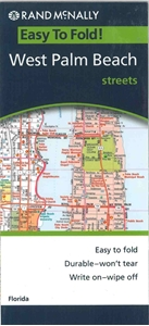 Picture of West Palm Beach, FL Folded EasyFinder Map
